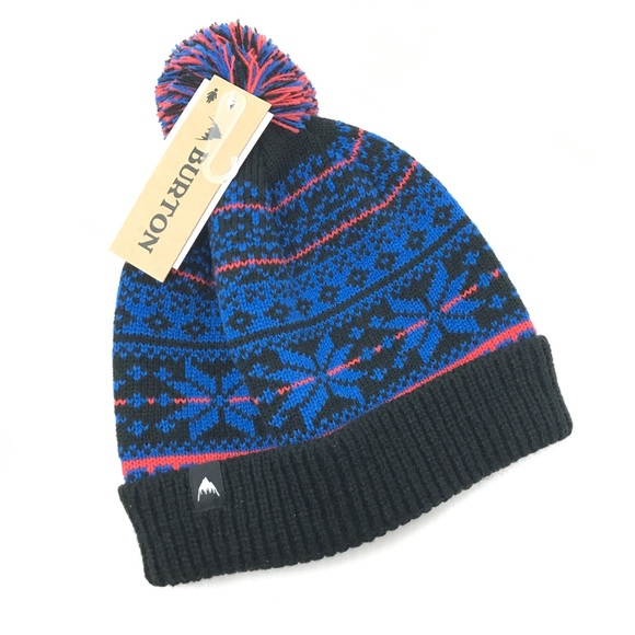 da57ce4cfd0 Burton McKenzie Beanie Knit Hat O S Fair Isle NEW